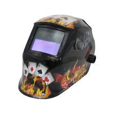 MX-E Auto Darkening Welding Helmet with flame
